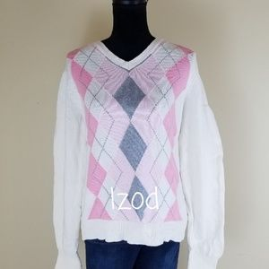 IZOD GOLF COLLECTION COTTON SWEATER, SIZE XL